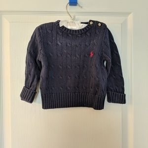 Ralph Lauren cableknit sweater